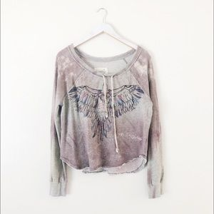 We The Free Free People Eagle Pullover
